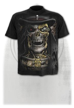 STEAM PUNK REAPER - T-Shirt Black