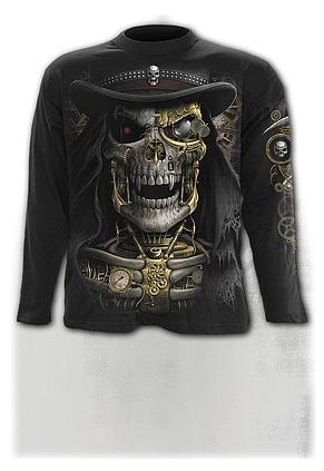 STEAM PUNK REAPER - Longsleeve T-Shirt Black