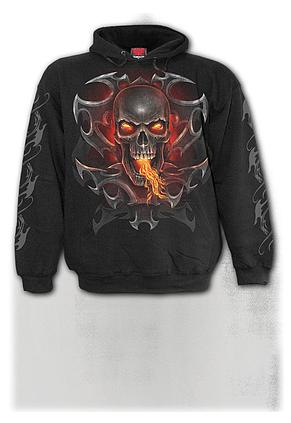 FIRE DRAGON - Hoody Black