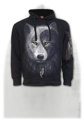 WOLF CHI - Side Pocket Hoody Black