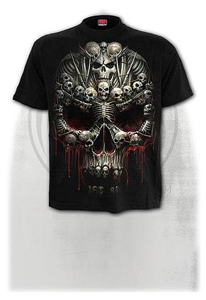 DEATH BONES - T-Shirt Black