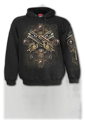 STEAMPUNK SKELETON - Hoody Black