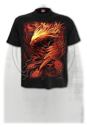 PHOENIX ARISEN - T-Shirt Black