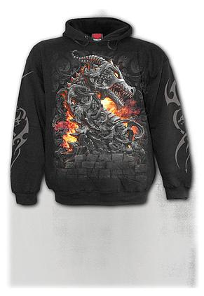 KEEPER OF THE FORTRESS - Hoody Black