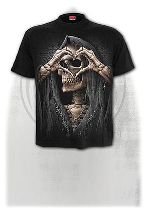 DARK LOVE - T-Shirt Black