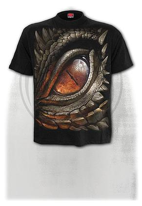 DRAGON EYE - T-Shirt Black