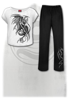 WYVERN - 4pc Gothic Pyjama Set