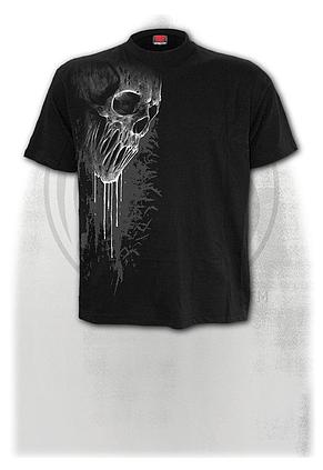 BAT CURSE - Front Print T-Shirt Black