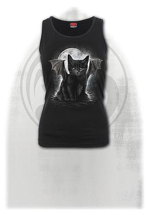 BAT CAT - Razor Back Top Black