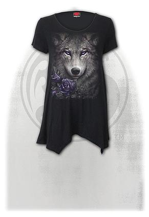 WOLF ROSES - Smock - Tunic Casual Top