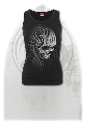 DEATH ROAR - Razor Back Top Black