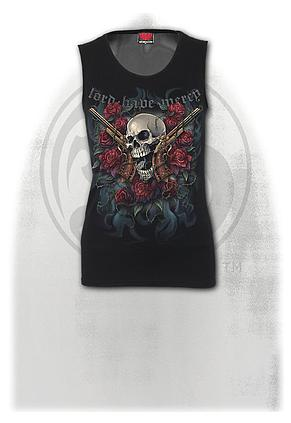 LORD HAVE MERCY - Tattoo Back Mesh Sublimated  Vest