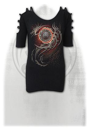 DRAGON EYE - Ladder - Strap Shoulder Top