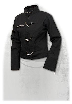 PURE OF HEART - Orient Goth Women Jacket Black