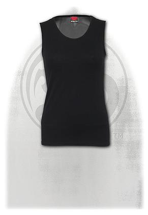 GOTHIC ROCK - Tattoo Back Mesh Sublimated  Vest