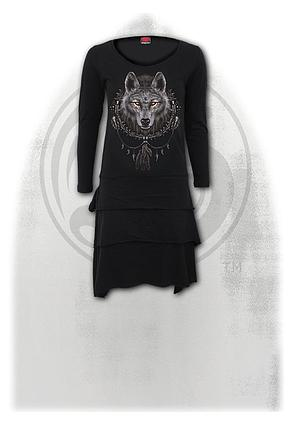 WOLF DREAMS - Layered Skirt Dress