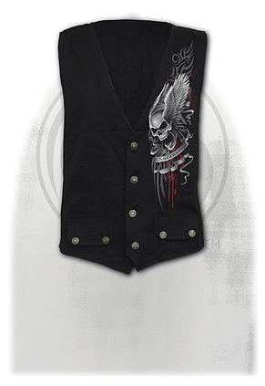 ASCENSION - Gothic Waistcoat Four Button with Lining