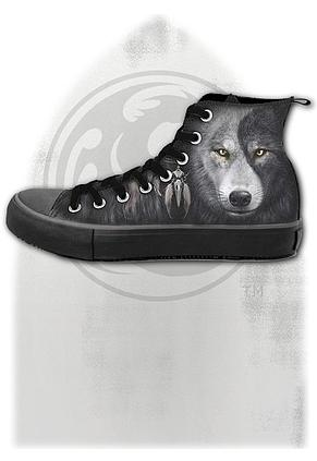 WOLF CHI - Sneakers - Men's High Top Laceup