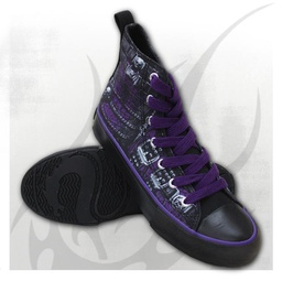 WAISTED CORSET - Sneakers - Ladies High Top Laceup