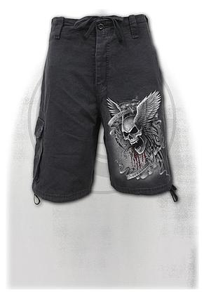 ASCENSION - Vintage Cargo Shorts Black
