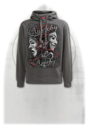 REBELLION - Hoody Charcoal