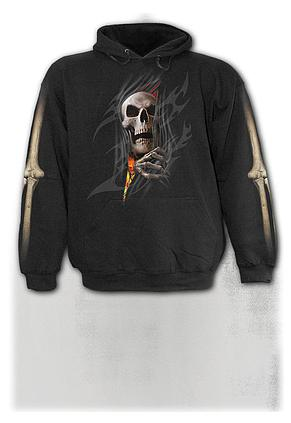 DEATH RE-RIPPED - Kids Hoody Black