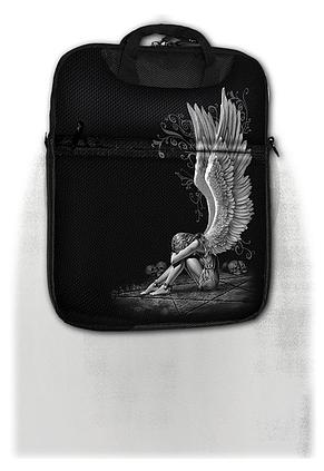 ENSLAVED ANGEL - Tablet Shoulder Bag 10inch